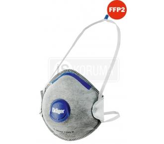 DRAGER X-PLORE 1320V FFP2 AKTİF KARBONLU MASKE